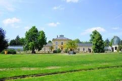 Naturaleza de Palmen Garten, Frankfurt-am-Main, Hesse, Alemania Foto de archivo libre de regalías