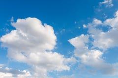Naturaleza del cielo y de las nubes Fotografía de archivo libre de regalías