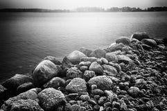 Naturaleza del cine negro Foto de archivo libre de regalías