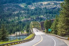 Naturaleza del estado del r?o Columbia Washington imagenes de archivo