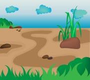 Naturaleza del fondo Ilustración del Vector
