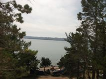 Naturaleza del gran lago Baikal fotos de archivo libres de regalías