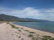 Naturaleza del gran lago Baikal Fotos de archivo