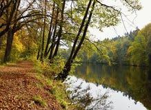Naturaleza del otoño Fotografía de archivo