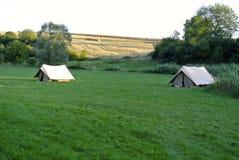 Naturaleza del tente del explorador fotos de archivo