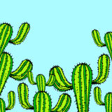 naturaleza, ejemplo, vector, planta, verde, flor, arte