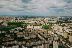 Naturaleza en Bielorrusia Visión desde el helicóptero, Minsk Fotografía de archivo libre de regalías