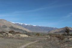 Naturaleza en la región de los talas de Kirguistán foto de archivo libre de regalías