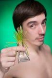 Naturaleza en nuestras manos Foto de archivo libre de regalías