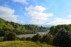 Naturaleza en Nueva Zelanda Imágenes de archivo libres de regalías