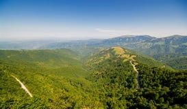 Naturaleza en Serbia Stara Planina Imagen de archivo libre de regalías