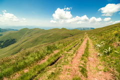 Naturaleza en Serbia Stara Planina Foto de archivo libre de regalías