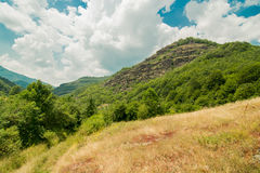 Naturaleza en Serbia Stara Planina Imagen de archivo