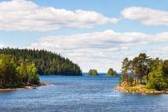 Naturaleza en Valaam fotos de archivo libres de regalías