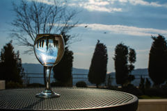 Naturaleza en vidrio imagen de archivo libre de regalías