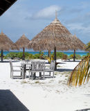 Naturaleza exótica maldives Fotos de archivo libres de regalías