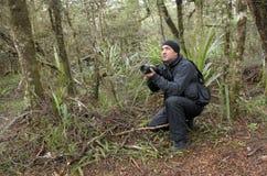 Naturaleza, fauna y fotógrafo profesionales del viaje Foto de archivo libre de regalías