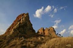 Naturaleza Geosites Fotos de archivo libres de regalías