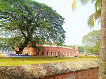 Naturaleza hermosa de Bagerhat Bangladesh Bangladesh foto de archivo