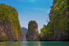 Naturaleza hermosa de Tailandia Fotos de archivo libres de regalías
