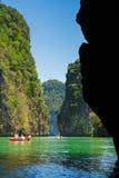Naturaleza hermosa de Tailandia Fotos de archivo