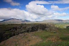 Naturaleza islandesa Fotos de archivo libres de regalías