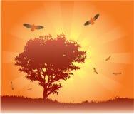 Naturaleza libre stock de ilustración