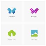 Naturaleza Logo Set