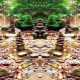 Naturaleza morphed Imagen de archivo libre de regalías