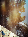 Naturaleza reflejada Fotos de archivo
