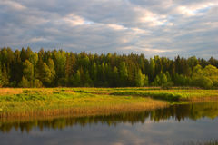 Naturaleza rusa Imagenes de archivo