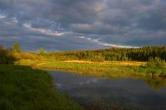 Naturaleza rusa Fotografía de archivo libre de regalías