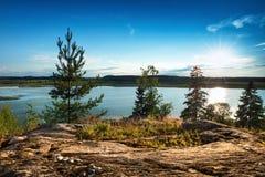 Naturaleza rusa en verano imagenes de archivo