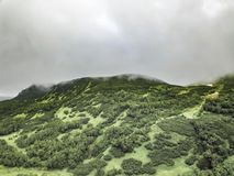 Naturaleza salvaje de Kamchatka Montañas de Kamchatka Naturaleza de Kamchatka, Rusia foto de archivo libre de regalías