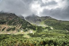 Naturaleza salvaje de Kamchatka Monta?as de Kamchatka Naturaleza de Kamchatka, Rusia fotos de archivo