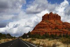 Naturaleza, Sedona, Arizona, roca de Bell - objeto, rojo, desierto Foto de archivo