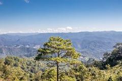 Naturaleza y paisaje hermosos de Pai, Mae-Hong-Sorn, Tailandia Foto de archivo libre de regalías