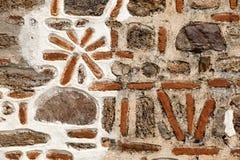 Naturali antichi stonewall Fotografia Stock
