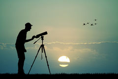 Naturalistic observatory Royalty Free Stock Images
