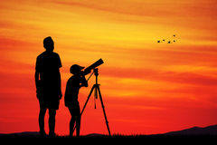Naturalistic observatory Stock Image