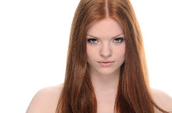 Beauty Redhead Royalty Free Stock Image