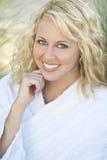 Naturally Beautiful Smile Stock Photography