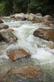 Naturally undeveloped river in Bentong, Pahang, Malaysia Stock Photography