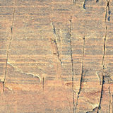 Naturalna bezszwowa tekstura - czerwieni skały powierzchni tło Obraz Royalty Free