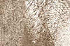 Naturalna bieliźniana tekstura dla tła Fotografia Stock
