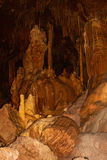 Naturalna Bridżowa Caverns formacja 3 Zdjęcia Stock