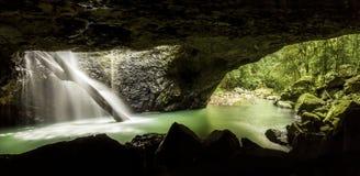 Naturalna Bridżowa jama Queensland zdjęcia royalty free
