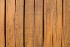 Naturalna brown drewniana lath linia uk?ada deseniowego tekstury t?o obraz royalty free