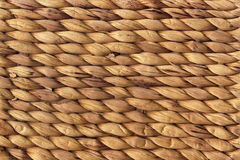 Naturalna Brown plecionki Grunge tła Rafiowa Matowa Szorstka tekstura Zdjęcia Stock