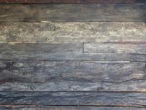Naturalna brown stajni drewna ściana obraz stock